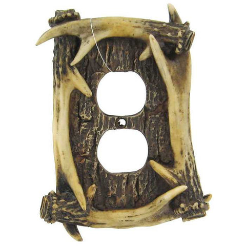 Antler Outlet Cover