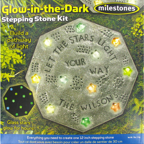 Glow-in-the Dark Stepping Stone Kit