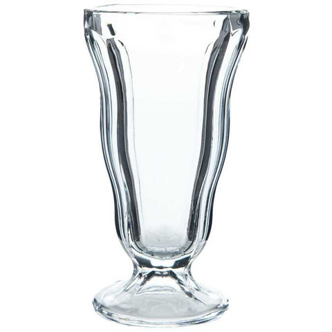 "6 1/2"" Clear Soda Glass"
