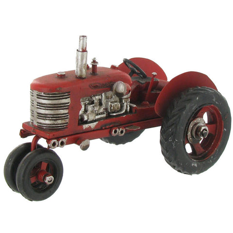 Metal Tractor with Chrome