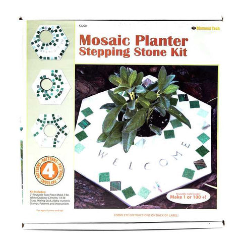 Herb Garden Stepping Stone Kit