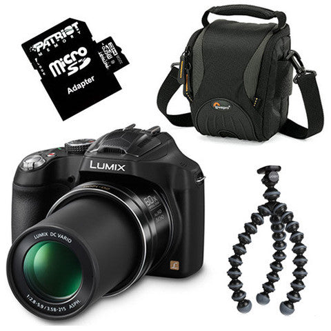 PANASONIC LUMIX 16.1MP DIGITAL CAMERA BUNDLE