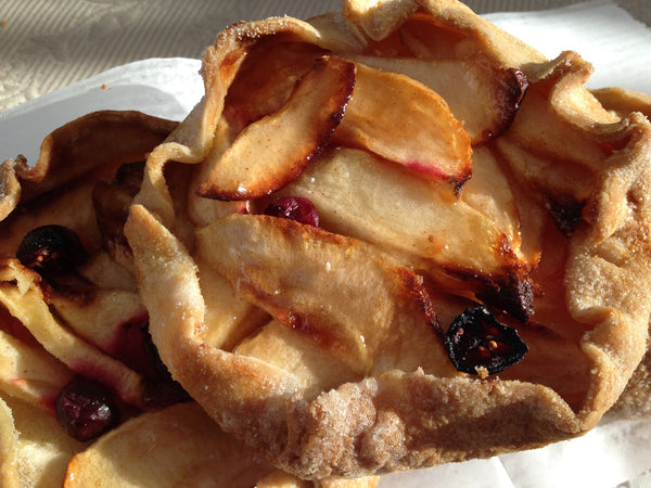 Apple Blueberry Galettes Set of Five