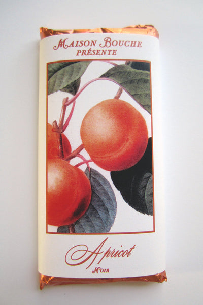 Apricot Botanical Dark Chocolate Bar