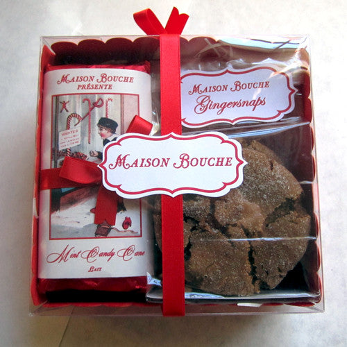 Holiday Chocolate & Gingersnap Box Set