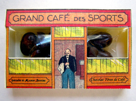 Grand Café des Sports Boutique with Chocolate Coffee Beans