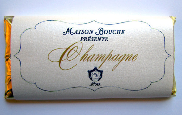 Champagne Dark Chocolate Bar
