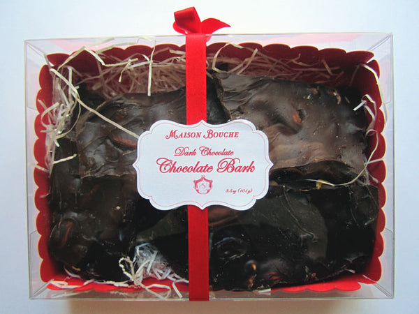 Chocolate Bark with Fruits and Nuts Gift Box