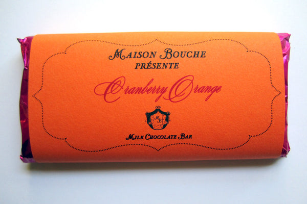 Cranberry Orange Bar
