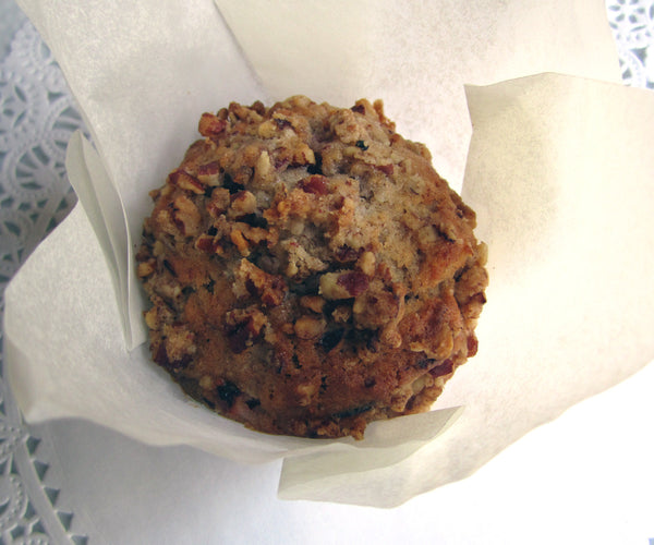 Cranberry Pecan Streusel Muffins Set of 12