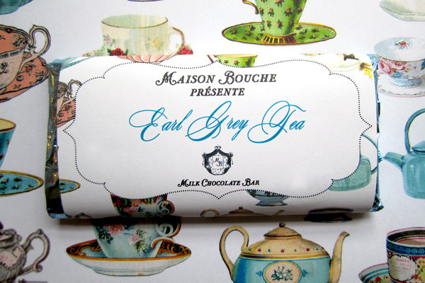 "Earl Grey Tea ""Tea Party"" Chocolate Bar"