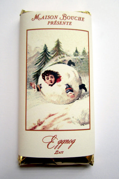 Eggnog Vintage Chocolate Bar