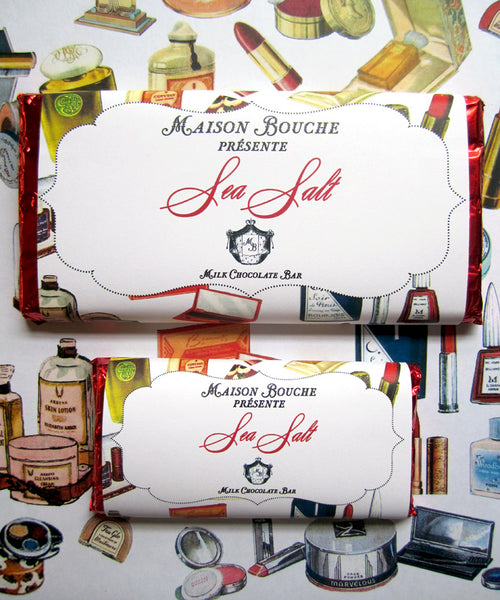 Fashion & Frolic Sea Salt Chocolate Bars