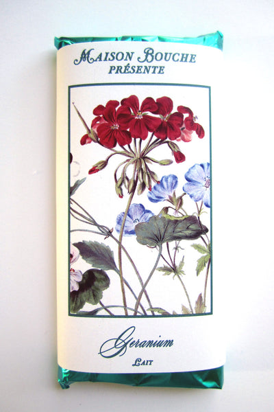 Geranium Botanical Chocolate Bar