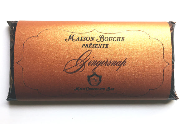 Gingersnap Signature Chocolate Bar