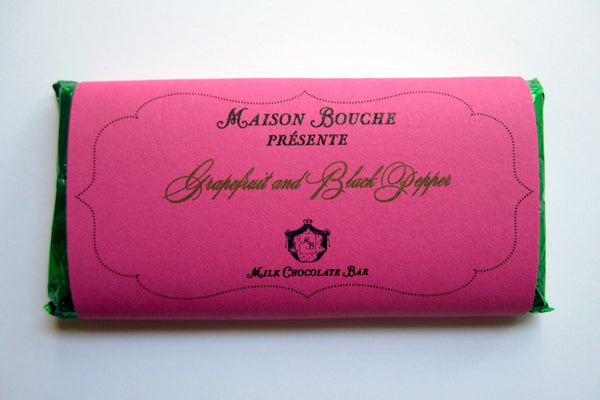 Grapefruit and Black Pepper Bar