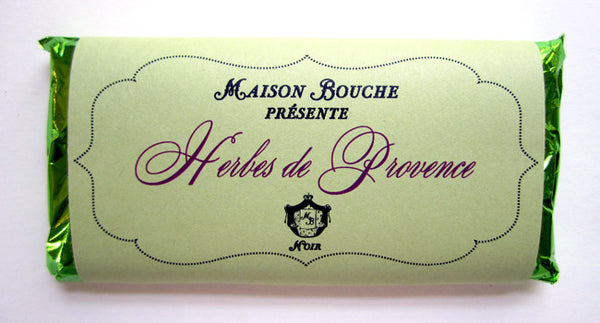 Herbes de Provence Chocolate Bar