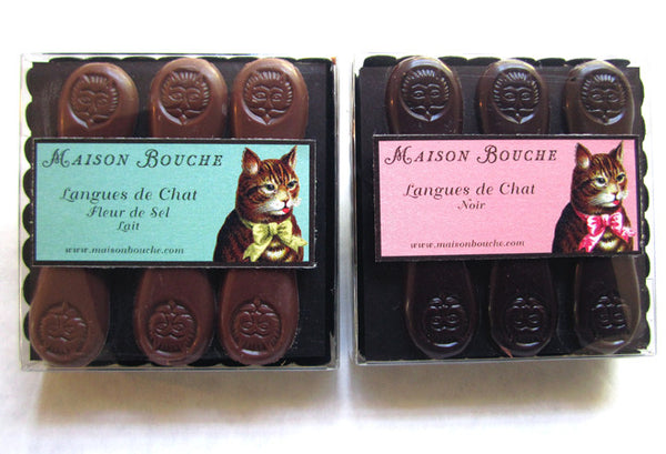 Langues de Chat Sea Salt Chocolates