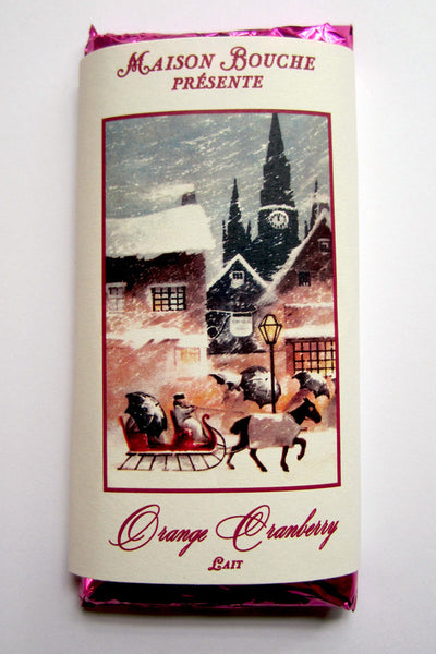 Orange Cranberry Vintage Chocolate Bar