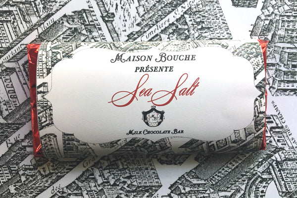 Sea Salt Paris Map Label Bar