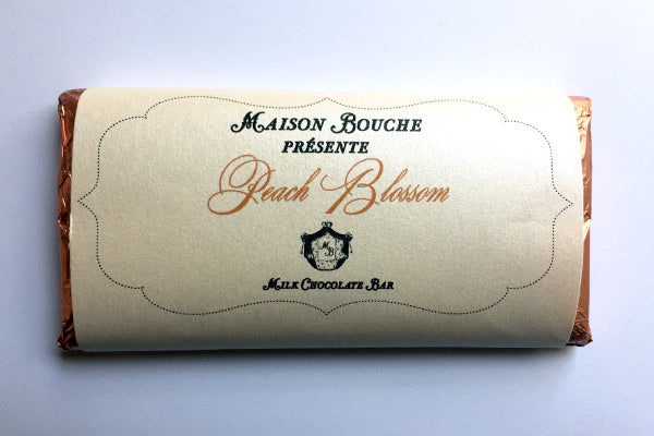 Peach Blossom Chocolate Bar