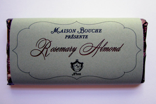 Rosemary Almond Chocolate Bar