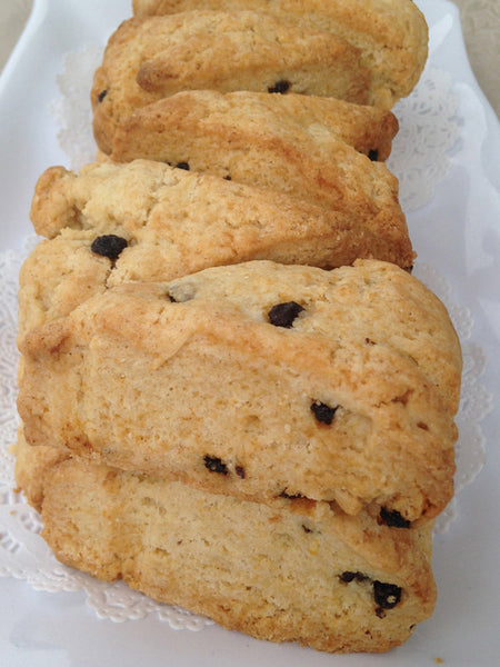 Cranberry Orange Scones - Regular or Gluten Free