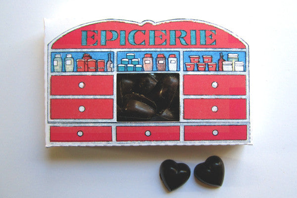 Epicerie (Spice Shop) with Mini Sea Salt Hearts