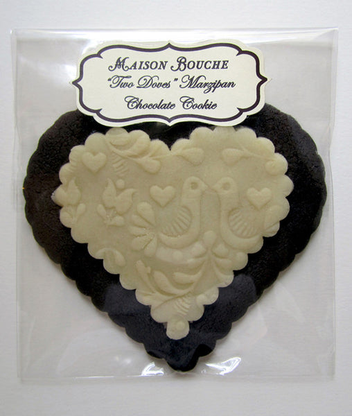 """Two Doves"" Marzipan Cookie"