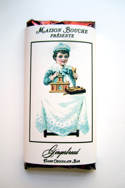 Gingerbread Vintage Label Bar