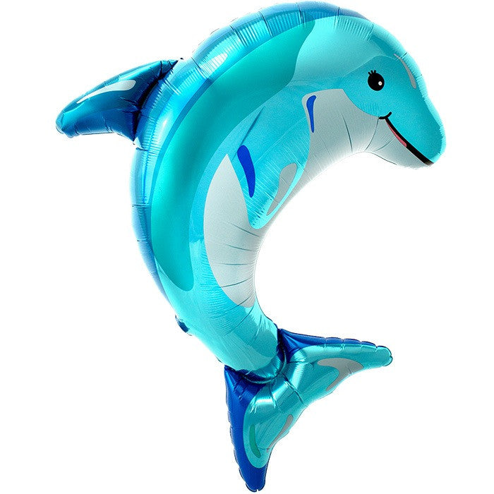 Blue Dolphin Balloon