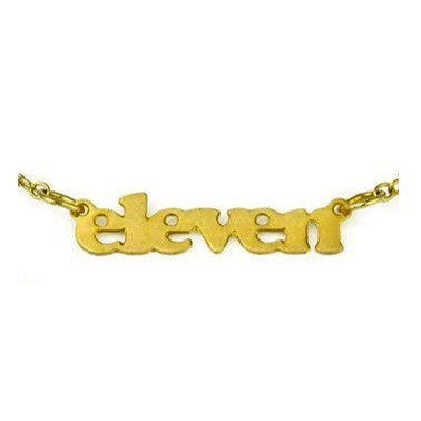 Birthday Necklace - Eleven