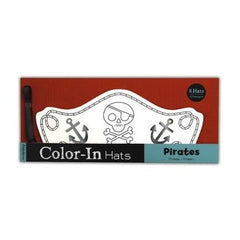 Color-In Hats - Pirates