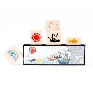 Sea Stamp Set