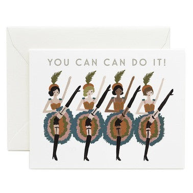 You Can Can Do It Card