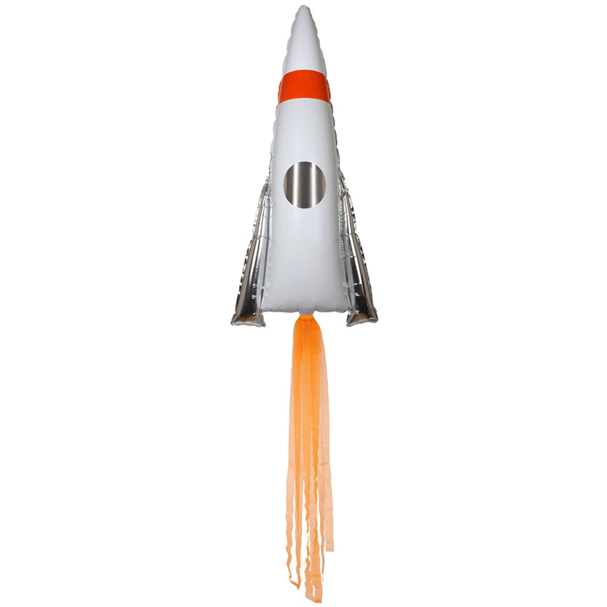 Space Rocket Mylar Balloons