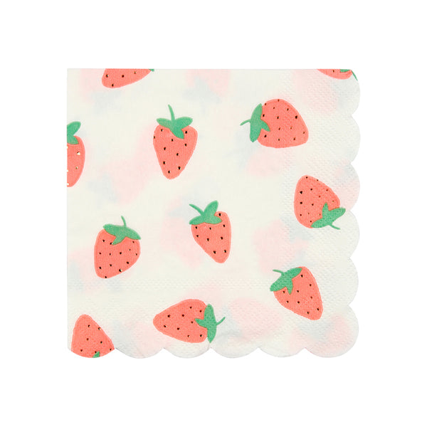 Strawberry Napkins