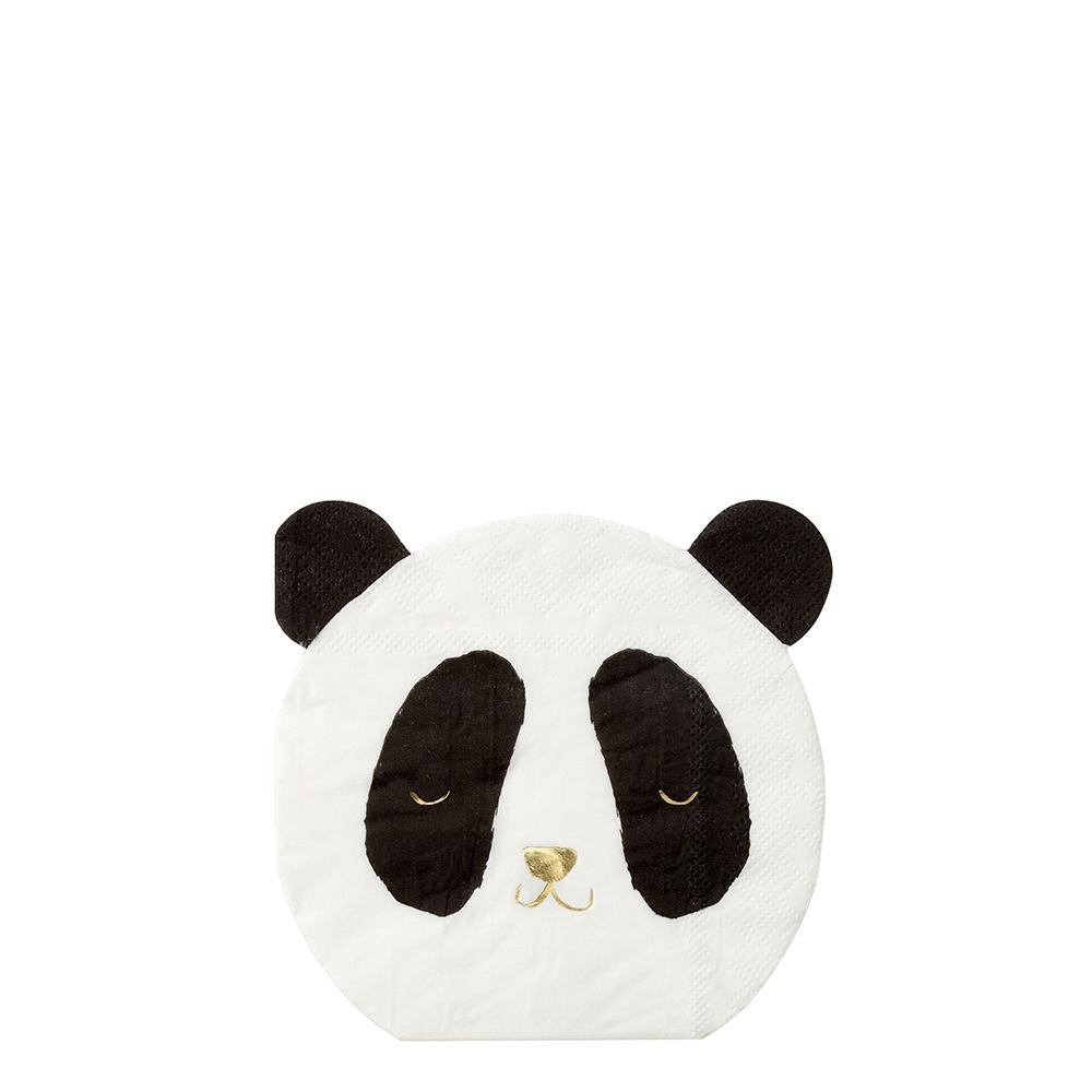 Small Panda Napkins