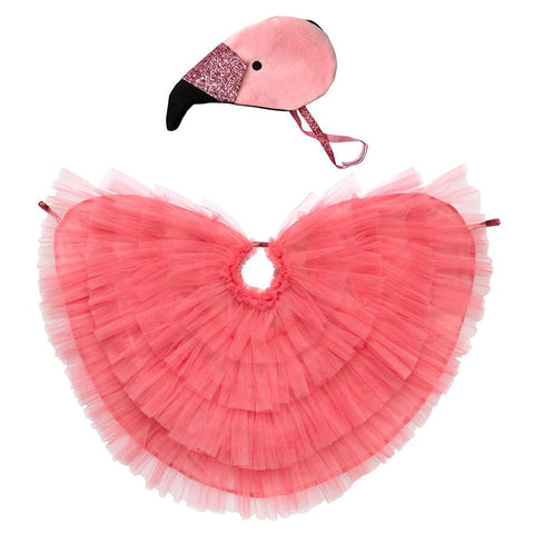 Flamingo Dress-Up Cape