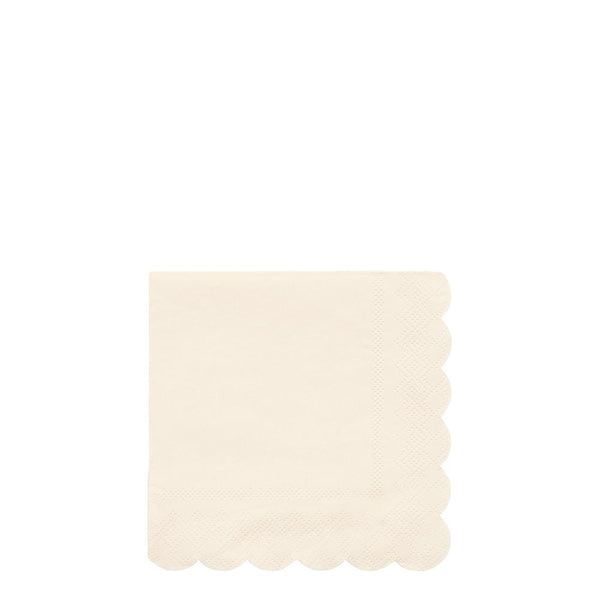 Cream Simply Eco Small Napkins