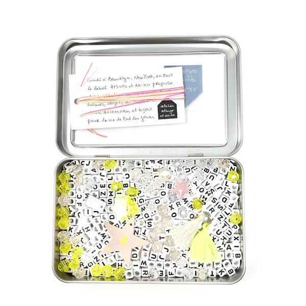 Beading Kit - Amulet / Fluo Yellow