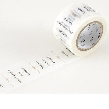 Masking Tape Single Roll - Thank You