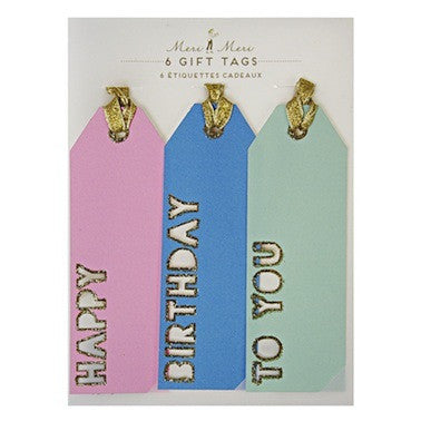 Happy Birthday To You Gift Tags