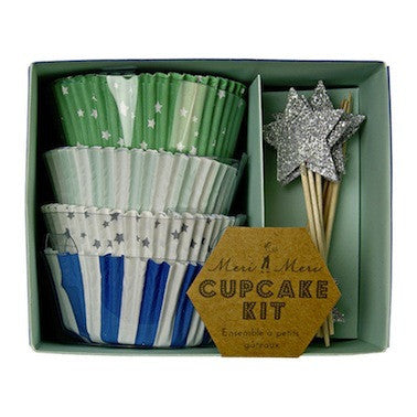 Toot Sweet Blue Cupcake Kit