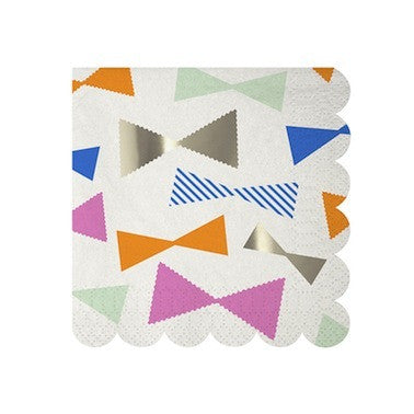 Bow Pattern Napkins