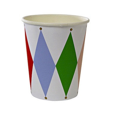 Harlequin Paper Cups