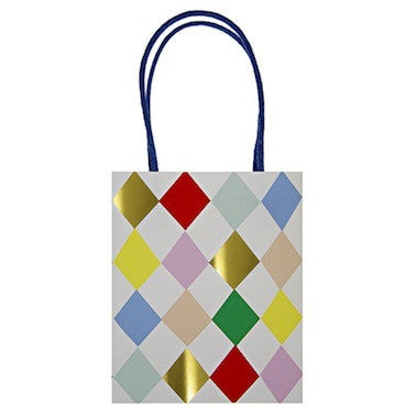 Toot Sweet Harlequin Pattern Party Bags