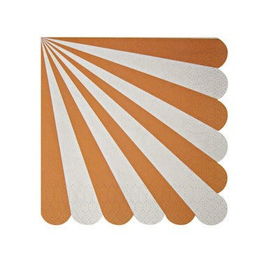 Orange Stripe Napkins