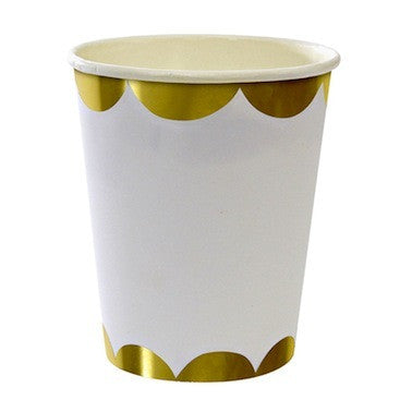 Toot Sweet - Gold Paper Cups