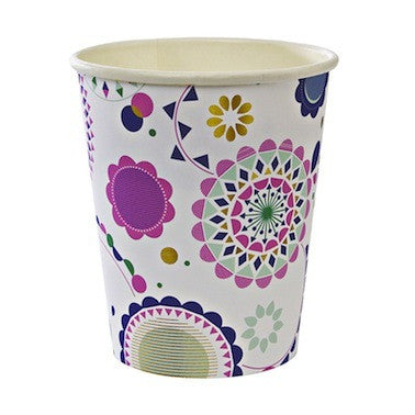 Toot Sweet Floral Paper Cups
